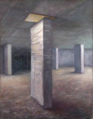 """Below the Surface"" Oil painting by James de Knoop"